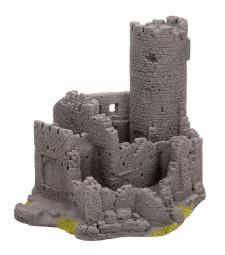 Порутен замък - 20 cm x 16,3 cm x 16,5 cm