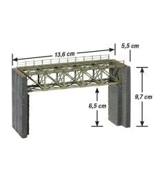 Стоманен мост за теснолинейка
