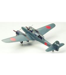 1:48 Японски нощен изтребител Gekko Type 11, ранно производство - 2 фигури