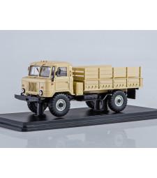 GAZ-66 Flatbed truck – Beige