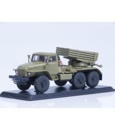 MLRS BM-21 Grad (URAL-375)