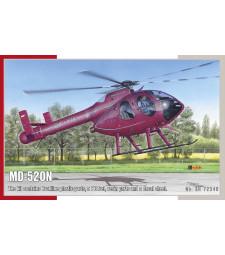 1:72 Хеликоптер MD-520N NOTAR