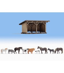 Заслон и домашни животни
