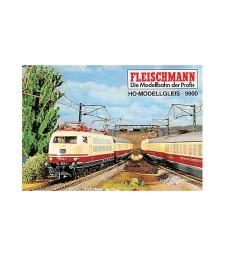 Брошура с планове на релсови пътища H0  (на немски език)