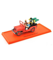 WILLYS MB 1943 48 - TINTIN AU PAYS DE L'OR NOIR - Tintin Collection by Atlas