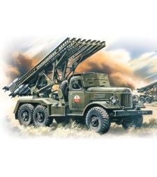 1:72 Съветска система за залпов огън BM-13-16 на база ZiL-157