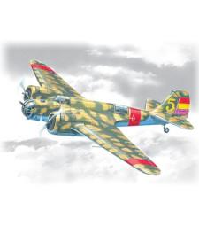 "1:72 Испански бомбардировач SB 2M-100 ""Катюшка"" (SB 2M-100 ""Katiushka"", Spanish Air Force Bomber)"