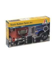 1:24 Комплект гуми за камион (8 бр.)