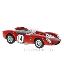 Ferrari 250 TR, No.14, 24h Le Mans O.Gendebien/P.Hill - 1958