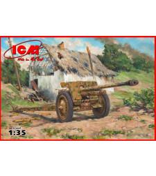 1:35 Германско противотанково оръдие 7,62 мм Пак 36 (German Anti-Tank Gun 7,62 cm Pak 36(r), WWII)