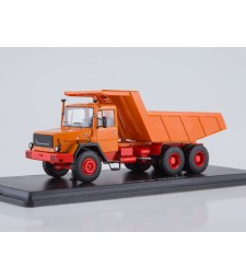 Magirus-Deutz 290D26K Dump Truck - orange