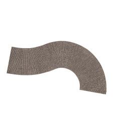 Пътна настилка тип калдаръм, извита - 7,5cm x 32cm