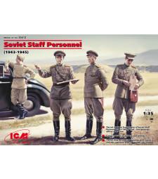 1:35 Съветски щабен персонал (1939-1945) (4 фигури)
