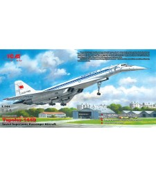 1:144 Съветски свръхзвуков пътнически самолет Туполев Ту-144Д /TU-144D/