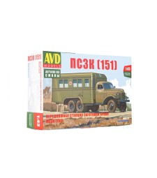 Blood transfusion truck PSZK (ZIS-151) - Die-cast Model Kit