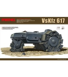 1:35 Бронирана машина VsKfz 617 Minenraumer