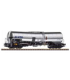 Товарен вагон цистерна за химически товари на железопътната компания, VTG, епоха VI