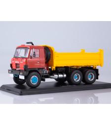 Tatra 815S3 three way dump truck /red-yellow/
