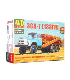 ZSK-7 agriculture feed truck (ZIL-133GJa) - Die-cast Model Kit