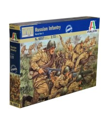 1:72 Руска пехота, Втора световна война - 46 фигури