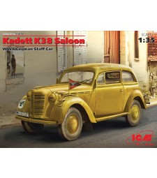 1:35 Германски автомобил Кадет К38 Салон (Kadett K38 Saloon, WWII German Staff Car)