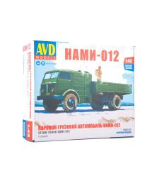 Steam truck NAMI-012, model kit