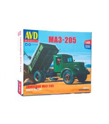 MAZ-205 dump truck - Die-cast Model Kit
