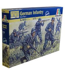 1:72 Германски пехотинци, Втора световна война (GERMAN INFANTRY) - 50 фигури