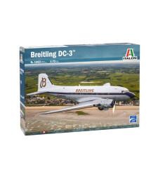 1:72 Пътнически самолет Бритлинг ДС-3 (BREITLING DC-3)