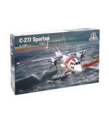 1:72 Италиански военен транспортен самолет C-27J СПАРТАН (C-27J SPARTAN)