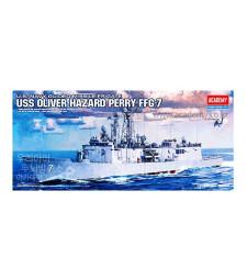 1:350 Американска фрегата USS OLIVER HAZARD PERRY FFG-7