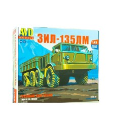 ZIL-135LM heavy flatbed truck - Die-cast Model Kit