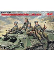 1:35 Съветска моторизирана пехота от периода 1979-1991 (4 figures)