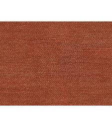 "Лист 3D картон ""Клинкер"" червен, 25 x 12,5 cm (H0)"
