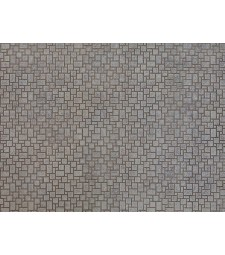 "Лист 3D картон ""Модерна настилка"", 25 x 12,5 cm (H0)"