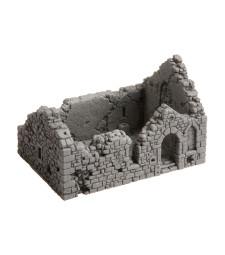 Руина на параклис - 10,5 см х 6,7 см, височина 6,7 см (H0)
