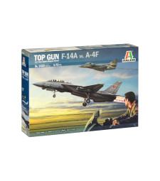 """1:72 Американски изтребител """"Top Gun"""" F-14A vs A-4M"""
