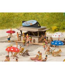 Плажен бар (7,6 х 5 см. 4,9 см височина) - H0