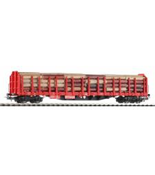 Товарен вагон за дървен материал с товар, DB AG, V