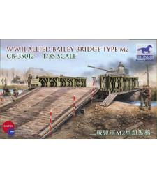 1:35 Съюзнически мост Бейли тип М2, Втората световна война
