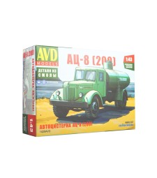 Tanker truck AC-8 (MAZ-200), model kit