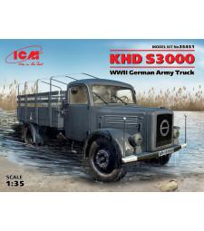 1:35 Германски военен камион KHD S3000 от Втората световна война