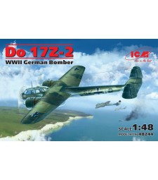 1:48 Германски двумоторен бомбардировач ДО 17З-2 (DO 17Z-2) от периода на Втората световна война