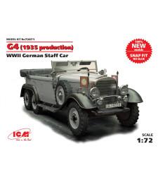 1:72 Германски щабен автомобил Г4 (G4) -  1939 г.