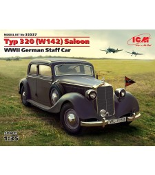 1:35 Германски автомобил Тип 320 (W142) Салон (Typ 320 (W142) Saloon, WWII German Staff Car)