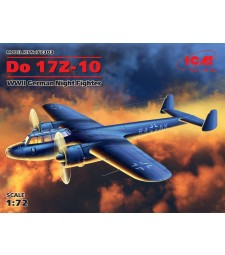 1:72 Германски двумоторен бомбардировач До 17З-10 (Do 17Z-10), Втора световна война (Нова матрица 2016)