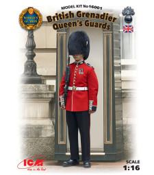 1:16 Британски кралски гвардеец (Нова матрица 2016)