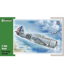 1:32 Самолет P-36 Pearl Harbor Defender
