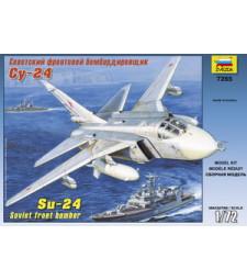"1:72 Съветски бомбардировач Сухой Су-24 ""Fencer"" /Su-24/"