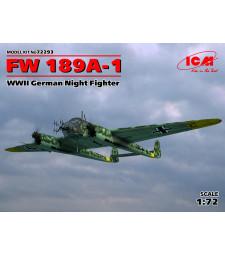 1:72 Германски нощен изтребител Фокевулф Фв 189А-1 (German Night Fighter FW 189A-1, WWII)